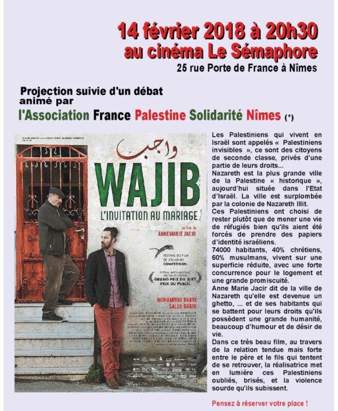 WAJIB  FILM DE ANNE-MARIE JACIR © E'M.C. Free Palestine