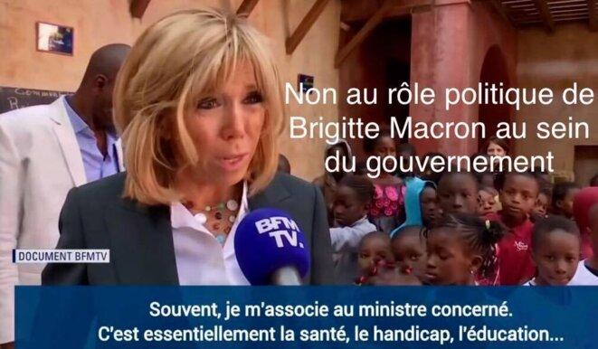 Brigitte Macron au frais du contribuable © THIERRY PAUL VALETTE - Égalité Nationale.