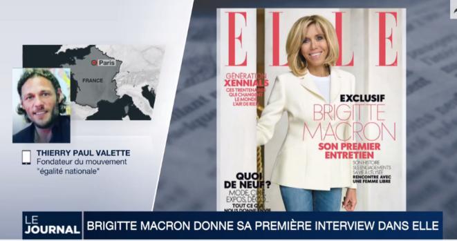 Thierry Paul Valette opposé au statut de Brigitte Macron © tHIERRY PAUL VALETTE - Égalité Nationale.