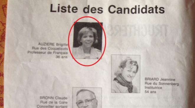Brigitte Macron sur uen liste électorale