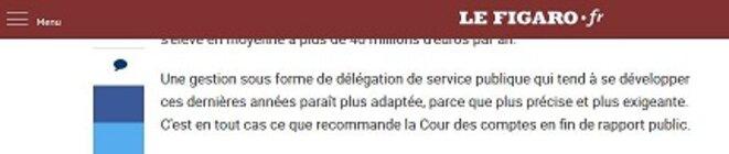 Citation de l'article de Corinne Caillaud du FIgaro Web du 7 Février 2018 © Corinne Caillaud
