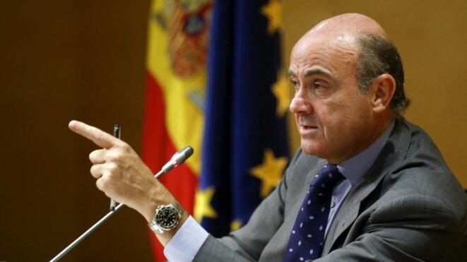 El ministro de Economía español, Luis de Guindos. © Reuters