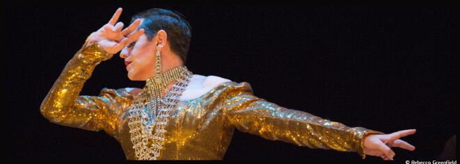 Au théâtre de l'Œuvre, Olivier Py chante Les premiers adieux de Miss Knife et envoûte l'auditoire © Rebecca Greenfield