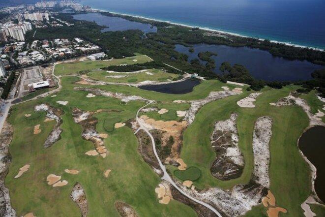 Rio 2016 - La construction du terrain de golf (sur une réserve naturelle !) a demandé 3 ans. 6 mois après les jeux, il est vide (Photo Nacho Doce)