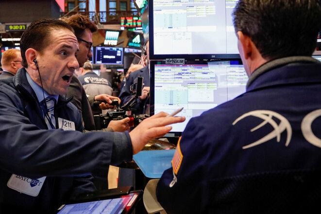 Un trader en Wall Street el 8 de febrero de 2018. © Reuters