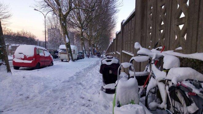 - 6 degrés le matin, Montreuil février 2018 © JK