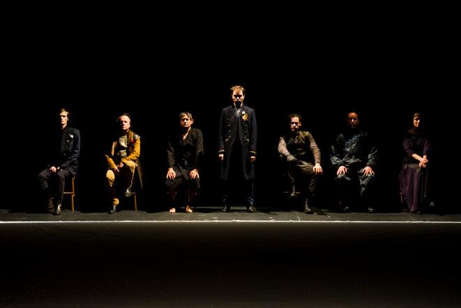 "Scène de ""Richard II"" © Guilermo Cuartero"