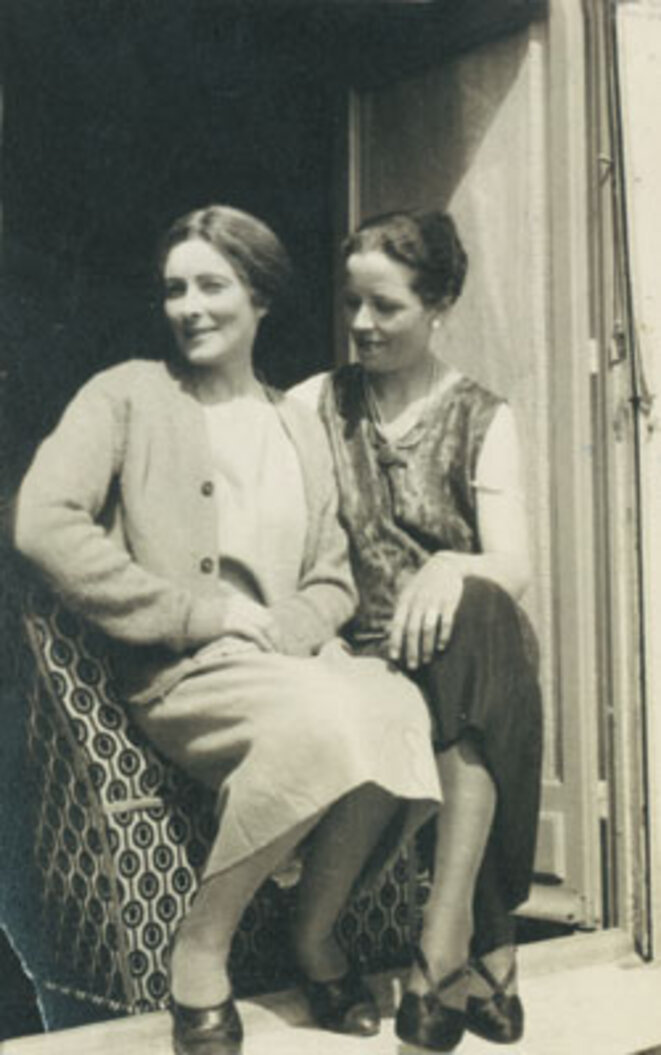 Mina Loy et Djuna Barnes (1927)