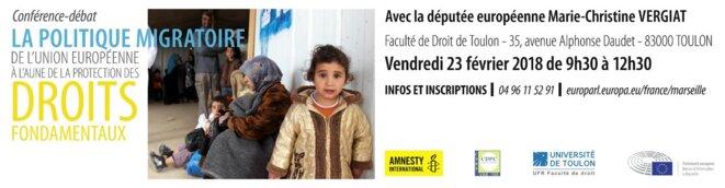 © Bureau du Parlement Européen Marseille