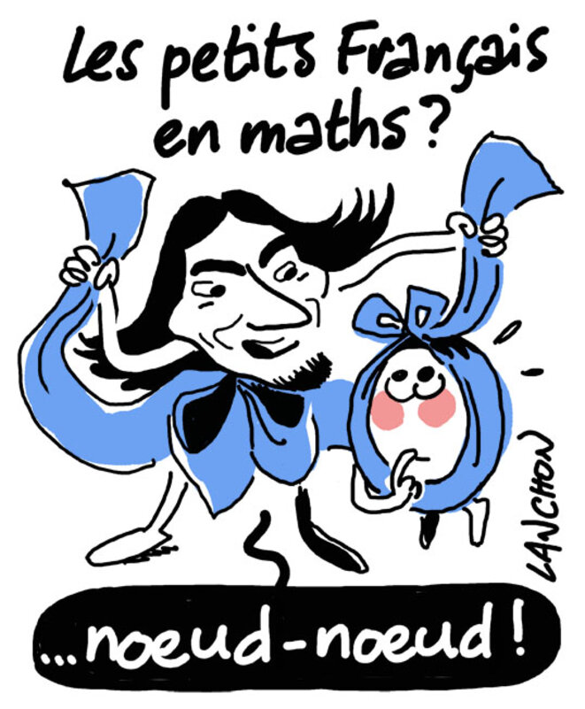 Cédric Villani se penche sur la formation en mathématiques des petits Français. © Agnès Lanchon
