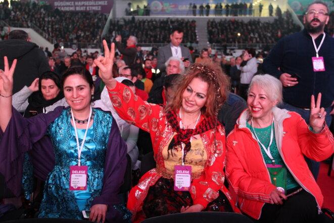 Lors du congrès du HDP, dimanche 11 février 2017 à Ankara. © DR