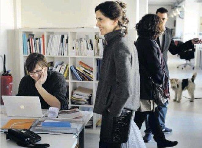 Stéphane Alliès et Carine Fouteau, en 2009 ©Jean-Michel Sicot