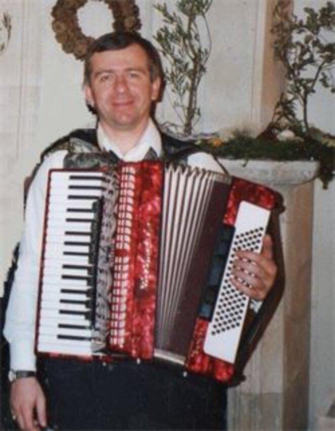 Boris Shakoumidov,  piano et accordéon (affiche de l'événement)