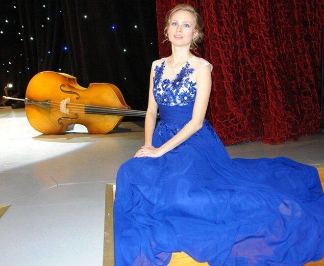 Nataliya Brazhkina, chanteuse lyrique. © affiche de l'événement