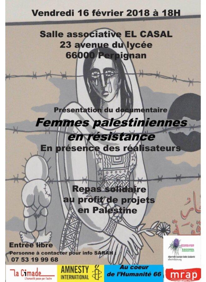 FEMMES PALESTINIENNES EN RÉSISTANCE © E'M.C.