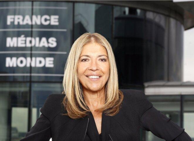 """Marie-Christine Saragosse, PDG de France Médias Monde. Son nouveau mandat a démarré le 5 octobre. Il s'est arrêté le 14 février suite à un """"oubli administratif"""". © (DR)"""