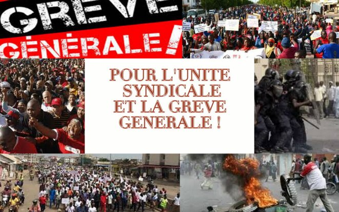 UNITÉ SYNDICALE & GRÈVE GÉNÉRALE