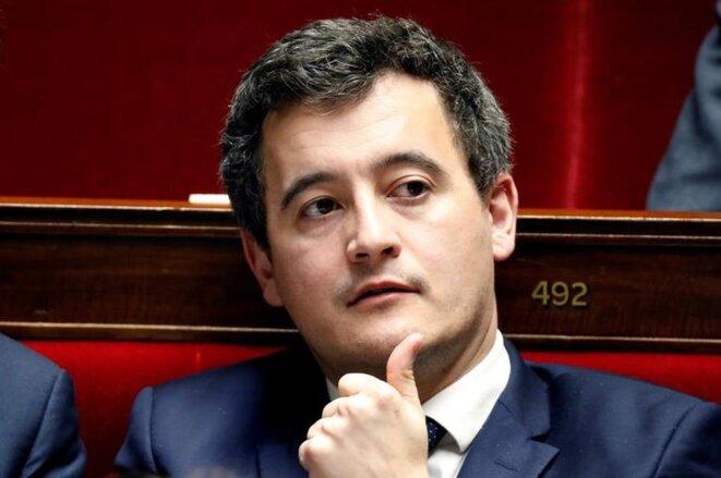 Gérald Darmanin le 13 février 2018 à l'Assemblée nationale. © Reuters