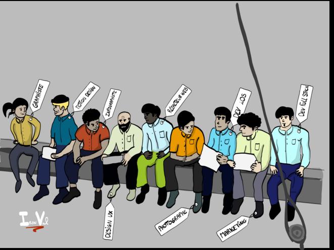 """Les bâtisseurs du """"nouveau monde"""" © Iron Val"""