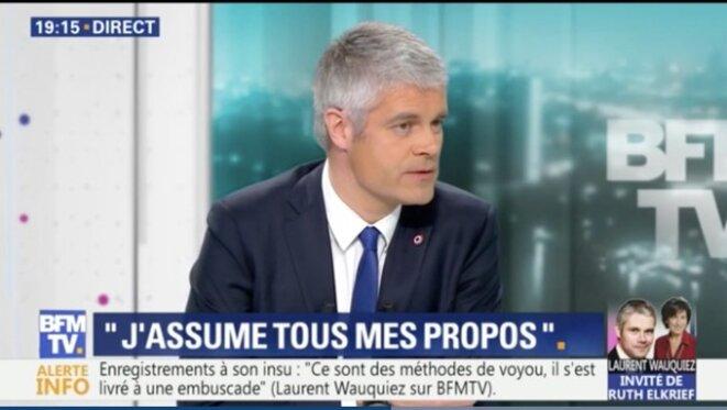 Laurent Wauquiez sur BFMTV