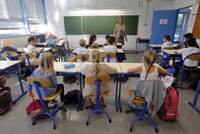 Une salle de classe à Marseille, en 2014. © Reuters