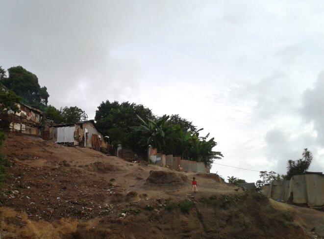 Bidonville à Koungou © Damien Gautreau