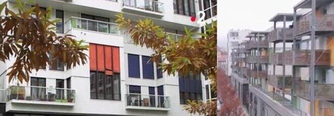 Balcons et balcons voisins