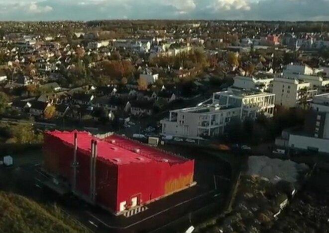 La grosse chaufferie rouge Capture écran