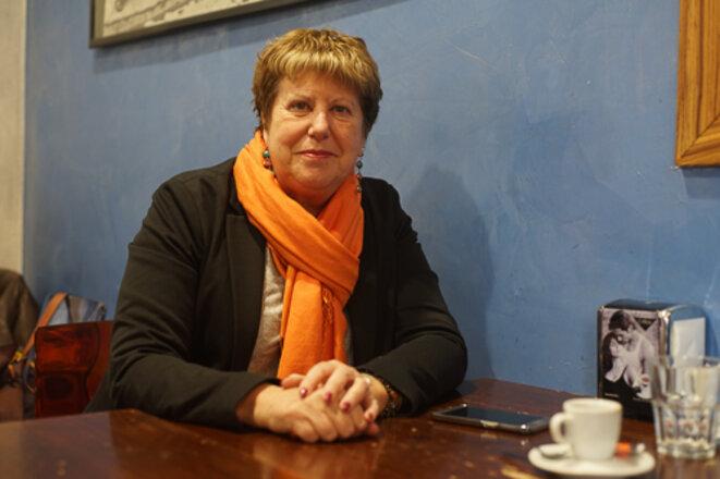 La journaliste et écrivaine gênoise Donatella Alfonso © AP