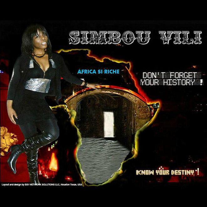 Album Africa si riche Simbou Vili © Simbou Vili