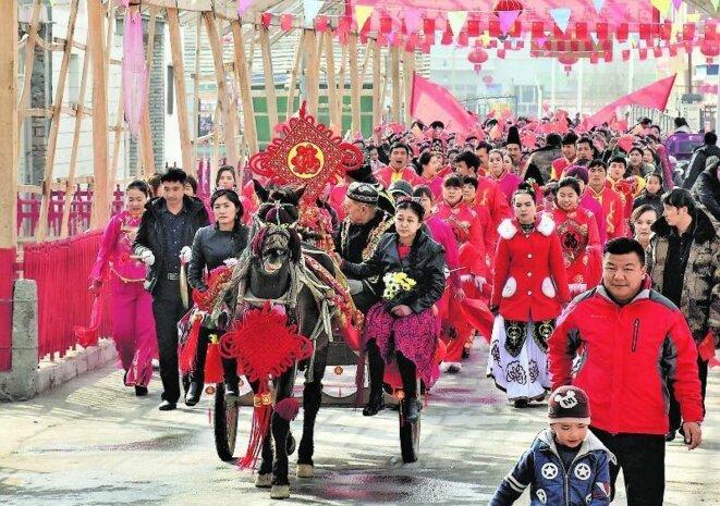 Les Ouïghours sont forcés à célébrer le Nouvel An Chinois