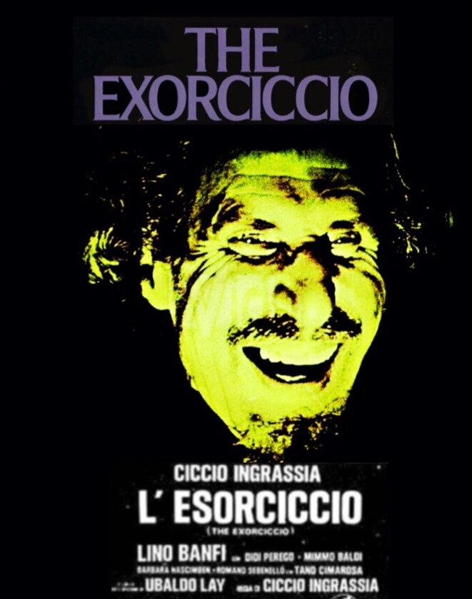 L'Esorciccio, de Ciccio Ingrassia (1975) © Ciccio Ingrassia