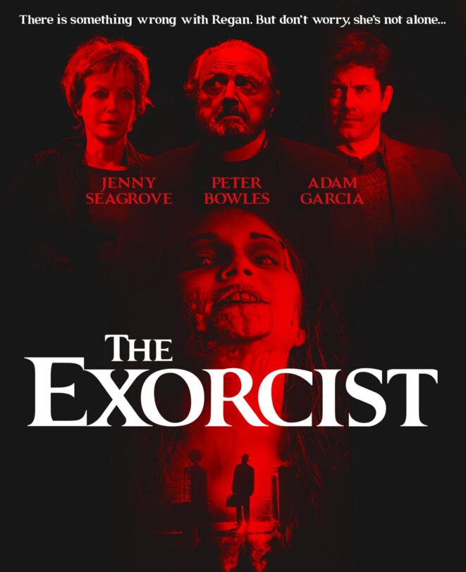 L'affiche de The Exorcist, présenté au Phoenix Theatre © Phoenix Theatre