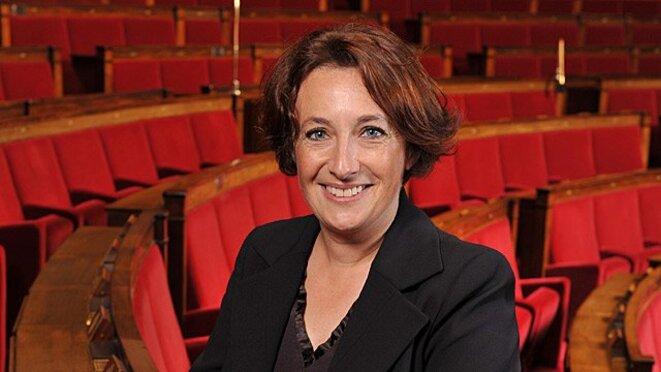 L'ancienne députée du Calvados Isabelle Attard, plaignante dans l'affaire Baupin © Mediapart