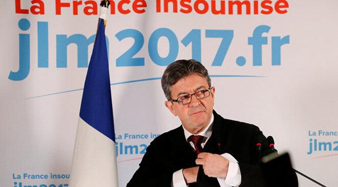 Le compte de Jean-Luc Mélenchon a fait l'objet de réformations de la part de la Cnccfp. © Reuters