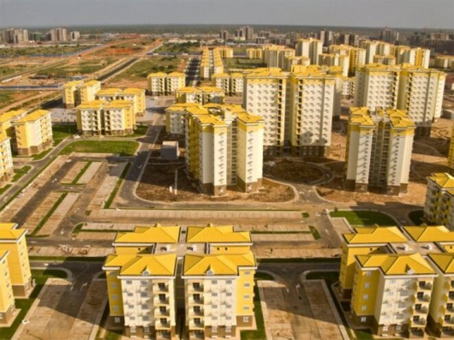 Nova Cidade Kimbala, près de Luanda