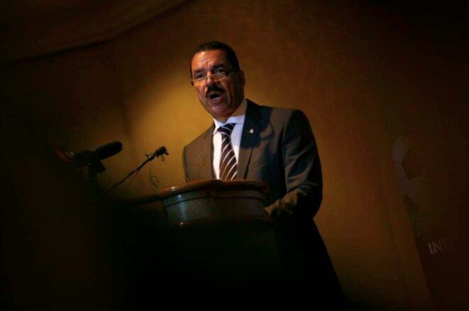 Ronald K. Noble, en février 2013 à Kuala Lumpur. © Reuters