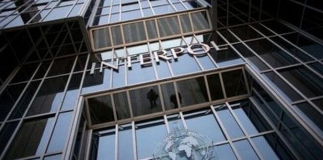 Le siège d'Interpol à Lyon. © DR