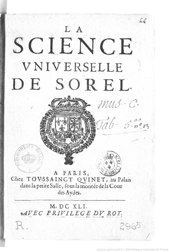la-science-universelle-de-sorel-sorel-charles-bpt6k310556c