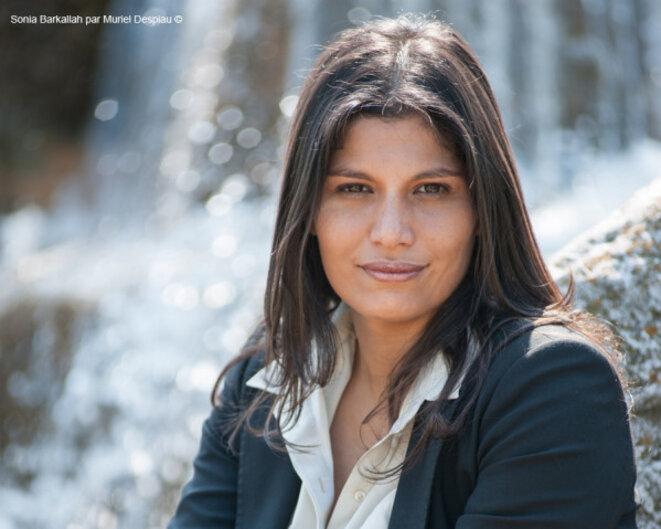 """La réalisatrice Sonia Barkallah, auteur de """"Faux départ"""". MURIEL DESPIAU"""