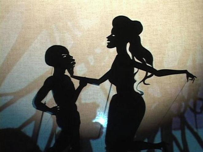 Fall from Grace, Miss Pipi's Blue Tale (2011) © Kara Walker - Courtesy of Sikkema Jenkins & Co, New York