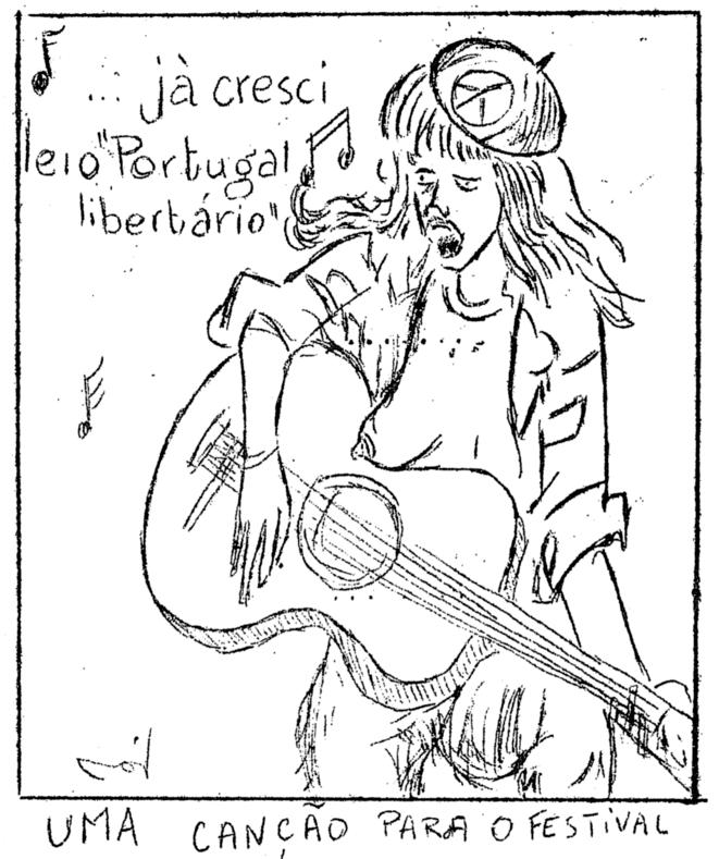 «Portugal libertário» n°8, mai 1974 (détail)