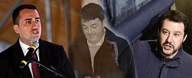 Di Maio, Renzi, Salvini