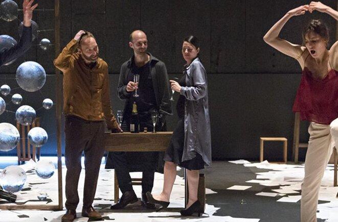 """Tiago Rodrigues, """"Bovary"""", Théâtre de la Bastille, 2018 © Tiago Rodrigues"""
