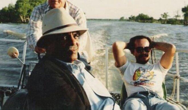 Sur les bayous de la Louisiane.