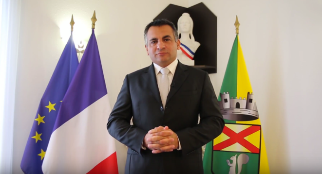 Sébastien Leroy, maire de Mandelieu-la-Napoule depuis novembre 2017.