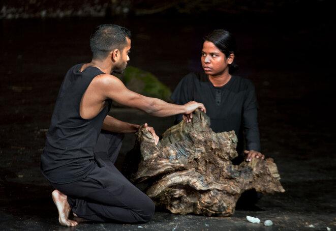 Hiran Abeysekera et Kalieaswari Srinivasan (© Simon Annand)