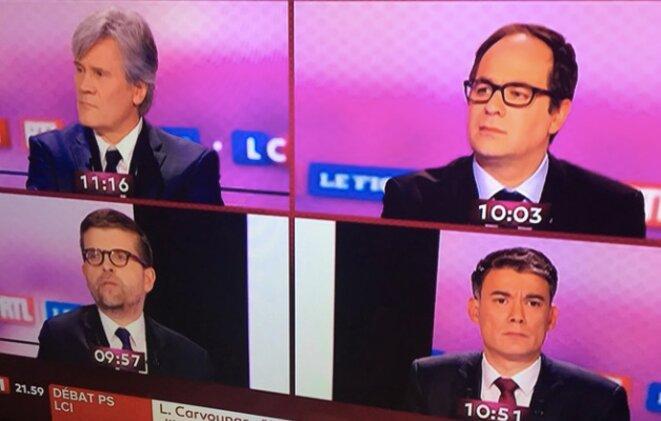 Lors du débat mercredi soir. © F.Z.