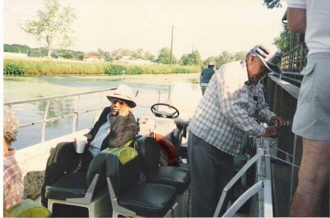 Édouard Glissant sur un bayou de Louisiane (1991)