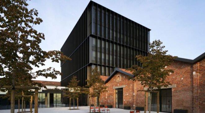 Le Gucci Hub, inauguré en 2016 dans une ancienne usine reconvertie, abrite le siège de la marque à Milan. © D.R.